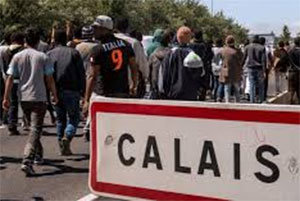 Calais France never ending arrival of unwanted immigrant Muslims